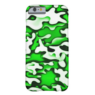 Psychedelic Green Gas Abstract Art Barely There iPhone 6 Case