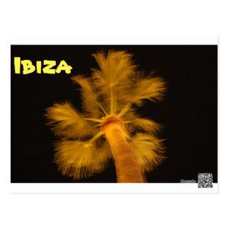 Psychedelic Ibiza Postcard