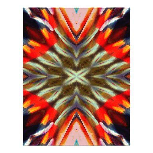 Psychedelic Illusion Abstract Flyers
