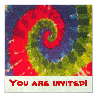 Psychedelic ~  Invitations