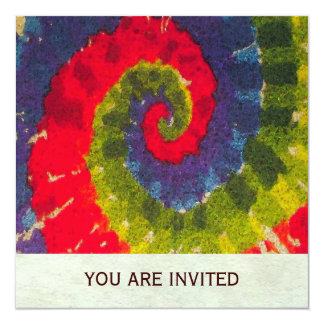 Psychedelic ~  Invitations / RSVP