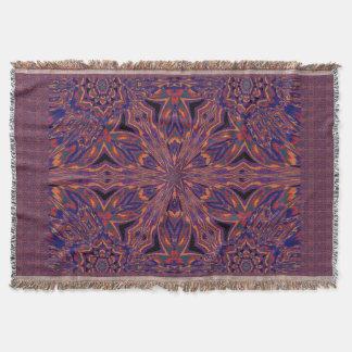 Psychedelic Jasmine 4 Throw Blanket
