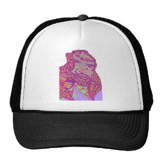 Psychedelic Jesus Christ Hats