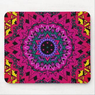Psychedelic Kaleidoscope Artwork: Mousepad