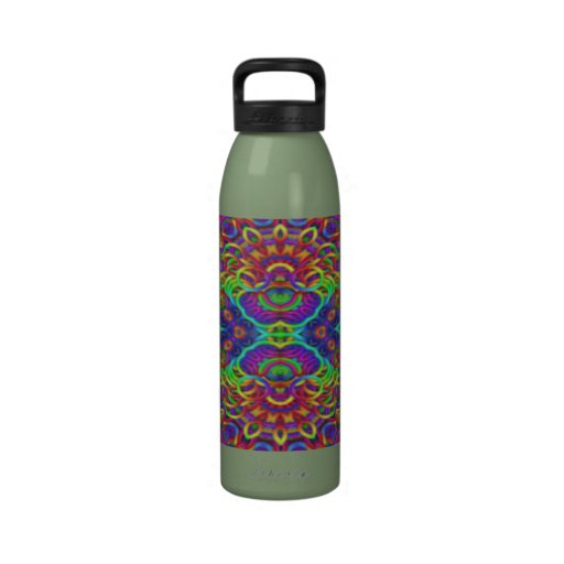Psychedelic Kaleidoscope Liberty Bottle Water Bottles