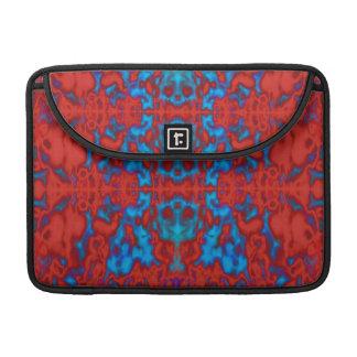 Psychedelic kaleidoscope pattern sleeve for MacBook pro