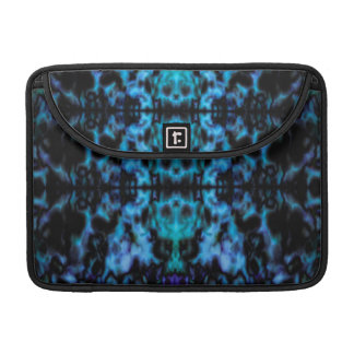 Psychedelic kaleidoscope pattern sleeve for MacBooks