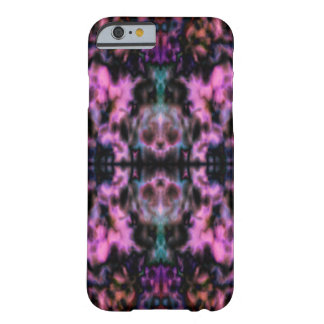 Psychedelic kaleidoscope skulls pattern barely there iPhone 6 case