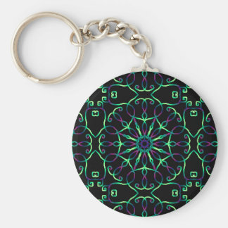 Psychedelic key-ring Drill Key Ring