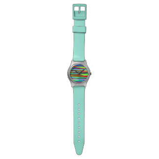 psychedelic lines watch