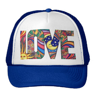 Psychedelic Love Hat