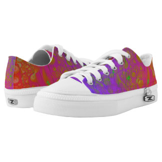 Psychedelic Low Tops