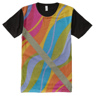 Psychedelic Ludi Barrs Original Design All-Over Print T-Shirt