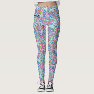 psychedelic madness leggings