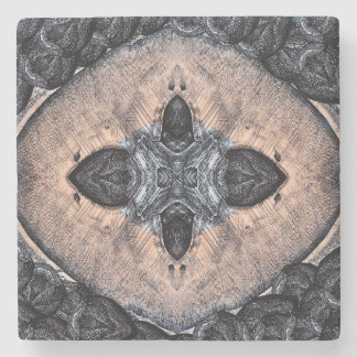 Psychedelic Marble Stone Coaster