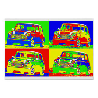 Psychedelic Minis Poster