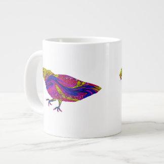 Psychedelic Monster Bird Jumbo Mug