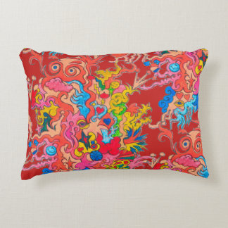 psychedelic Monster Decorative Cushion