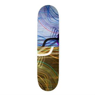 psychedelic Multi denominational universe Skateboard Deck