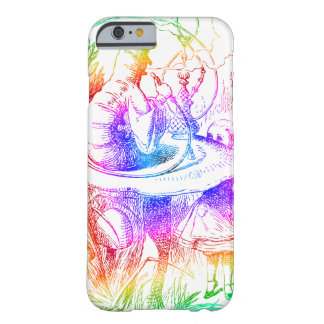 Psychedelic Mushroom Alice's Adventures Wonderland Barely There iPhone 6 Case
