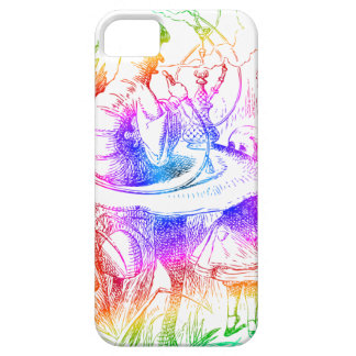 Psychedelic Mushroom Alice's Adventures Wonderland iPhone 5 Cover