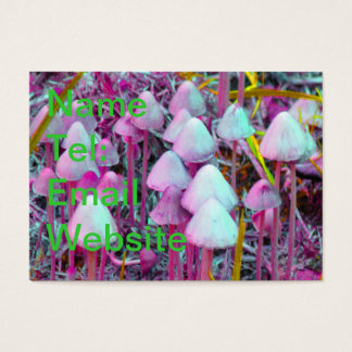 Psychedelic Mushrooms Business Card