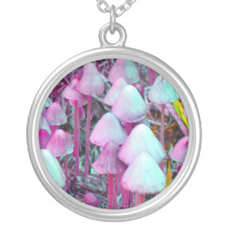 Psychedelic Mushrooms Custom Necklace