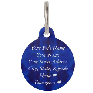 Psychedelic Mushrooms Pet Nametag