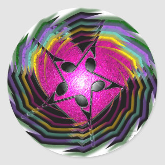 Psychedelic Music Stickers
