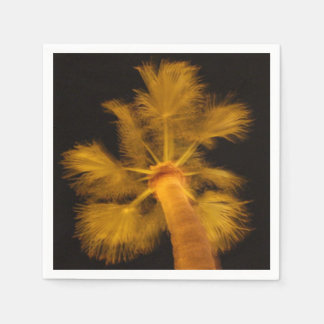 Psychedelic Napkins - Palm Tree Disposable Napkins