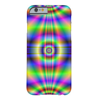 Psychedelic Neon Catscradle Barely There iPhone 6 Case