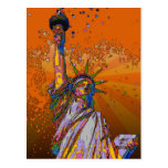 Psychedelic NYC: Statue of Liberty 001