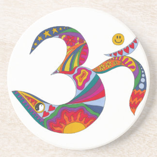 Psychedelic Om Coasters