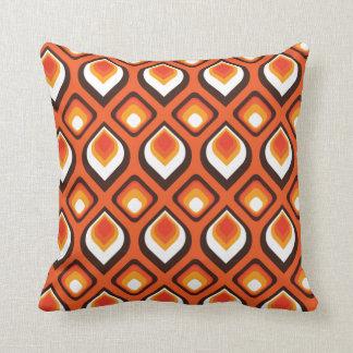 Psychedelic Orange Cushion