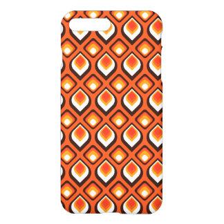 Psychedelic orange iPhone 7 plus case