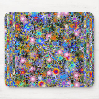 Psychedelic Overdose Mouse Mat