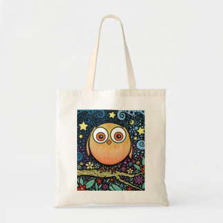 Psychedelic Owl Bag