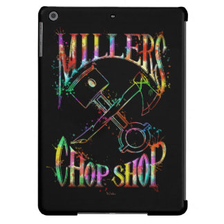 Psychedelic Paint Logo iPad Air Covers