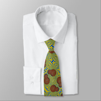 Psychedelic Paisley Wormhole Optical Illusion Tie