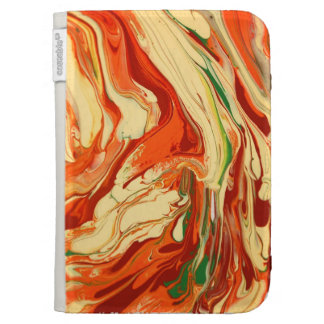 Psychedelic pattern Kindle case