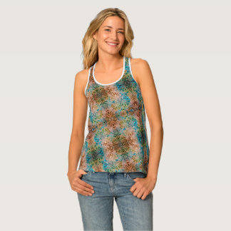 Psychedelic Pattern Tank Top
