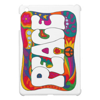 Psychedelic Peace and Love iPad Mini Cases