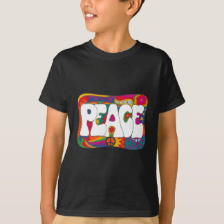 Psychedelic Peace and Love T-Shirt