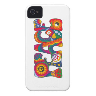 Psychedelic Peace Case-Mate iPhone 4 Cases