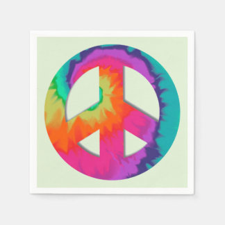 Psychedelic Peace Disposable Napkins