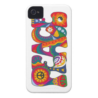 Psychedelic Peace iPhone 4 Cover