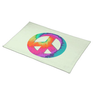 Psychedelic Peace Place Mats