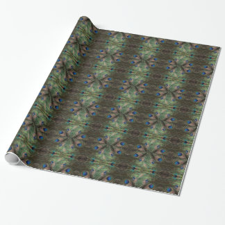 Psychedelic Peacock Wrapping Paper