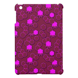 Psychedelic pink floral japanese design cover for the iPad mini