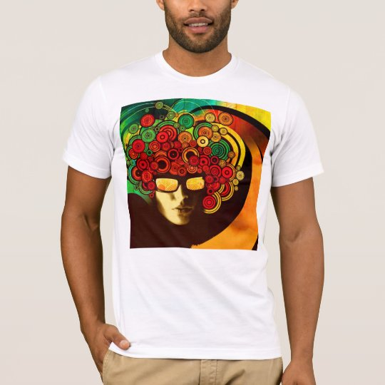 psychedelic pop art tshirt